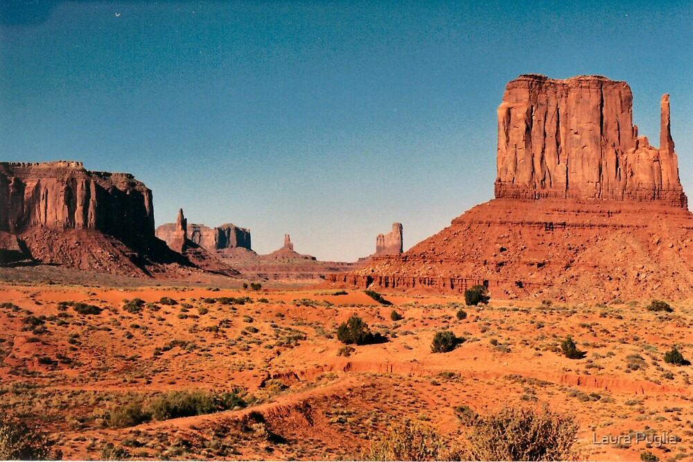 Monument Valley by Laura Puglia