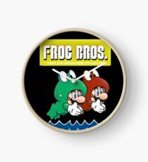 Frog Bros Clock
