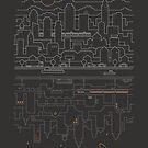 City 24 (Grey) by thepapercrane