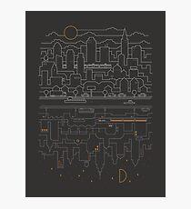 City 24 (Grey) Photographic Print