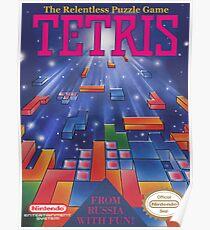 Tetris Box Art Poster Poster