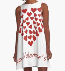 valentines hearts A-Line Dress