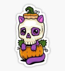 Pumpkitten Sticker