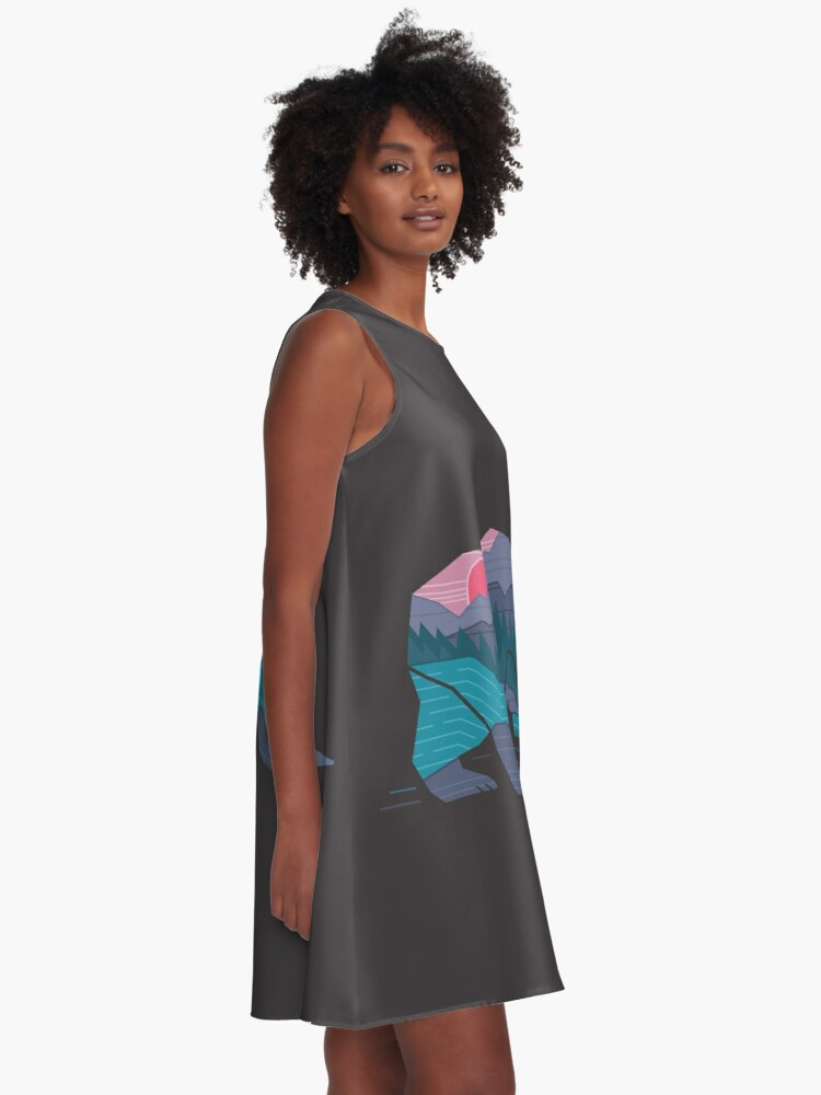Alternate view of Bear Country A-Line Dress