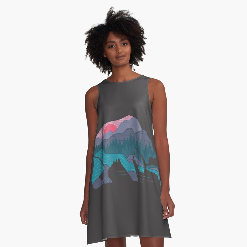 Bear Country A-Line Dress