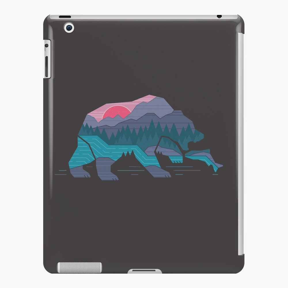 Bear Country Funda y vinilo para iPad