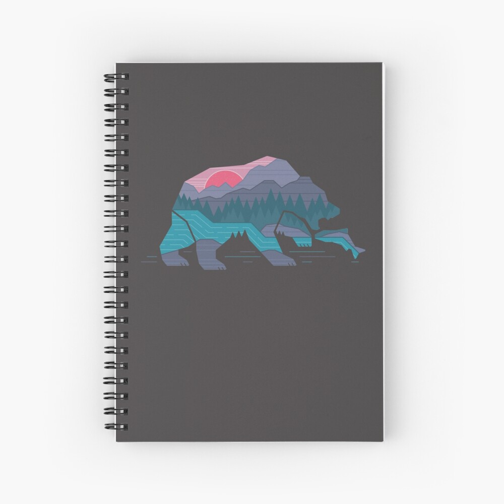 Bear Country Spiral Notebook