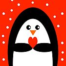 Christmas Penguin by Adam Regester