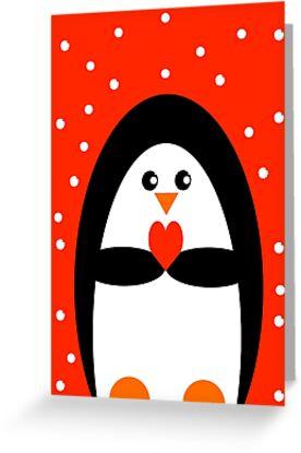 Christmas Penguin by Adam Regester