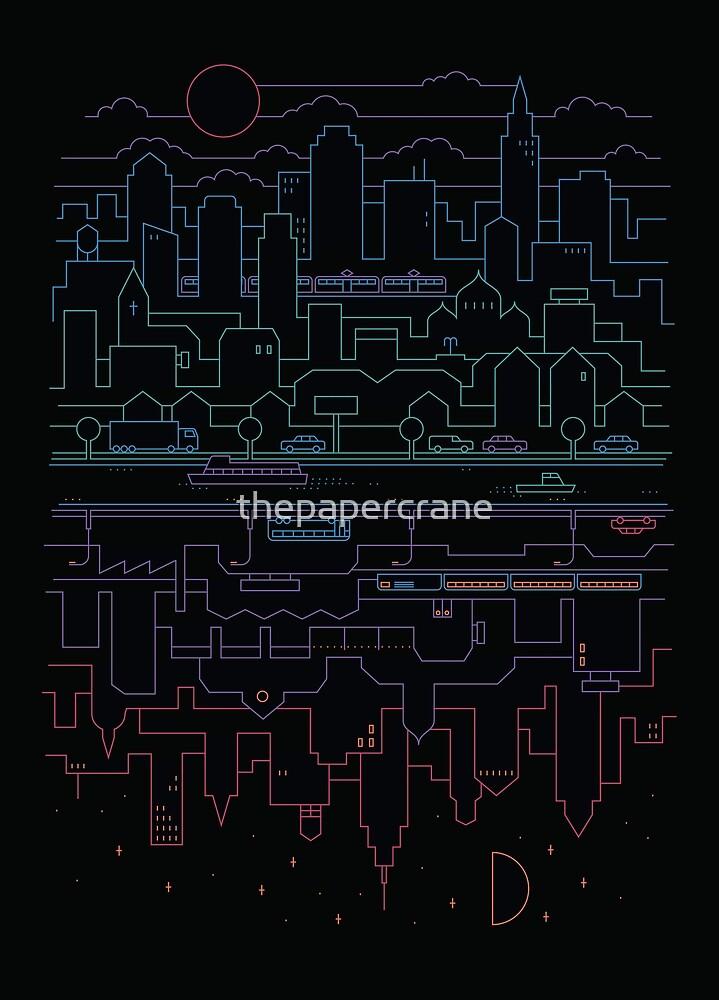City 24 by thepapercrane