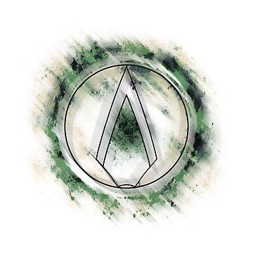 >>-Green-Arrow-Shirt-->  (Light Shirt!) by ethanmcrae