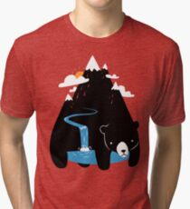 The Mountain Bear Tri-blend T-Shirt