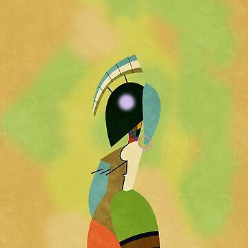 Las Musas #1 (Kandinsky) by RetroPops