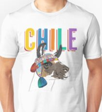 Chile Llama/Alpaca Graphic Unisex T-Shirt