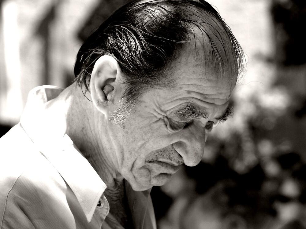Portrait of an elderly gentleman by MichaelBr