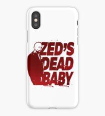 Zed's Dead Baby... (Pulp Fiction) iPhone Case/Skin
