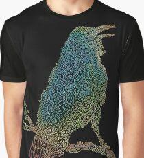 Der schillernde Rabe Grafik T-Shirt