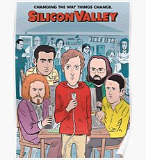 Silicon Valley Season 4 Poster