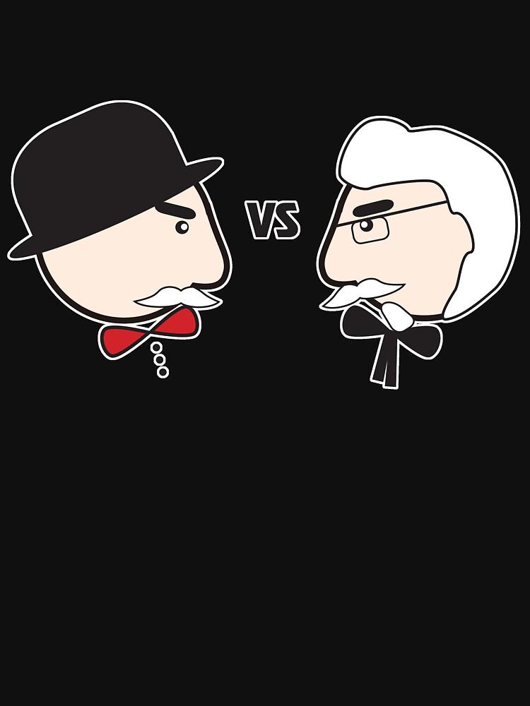 Spy vs Fry by MiniMumma