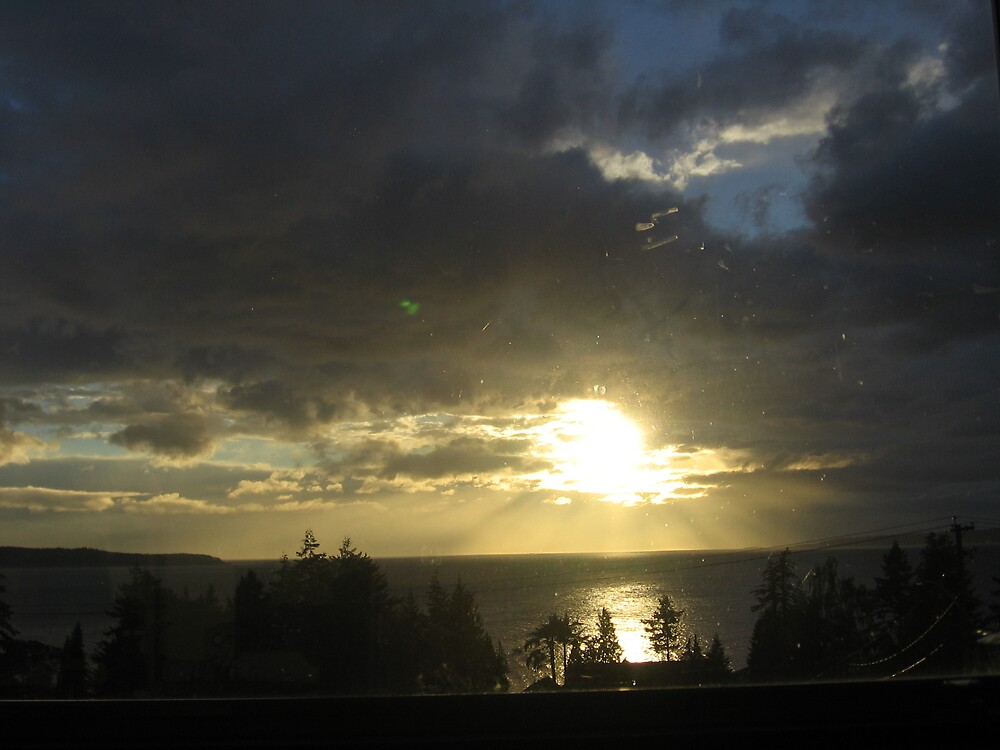Steel Sunset by WhiteRabbit13