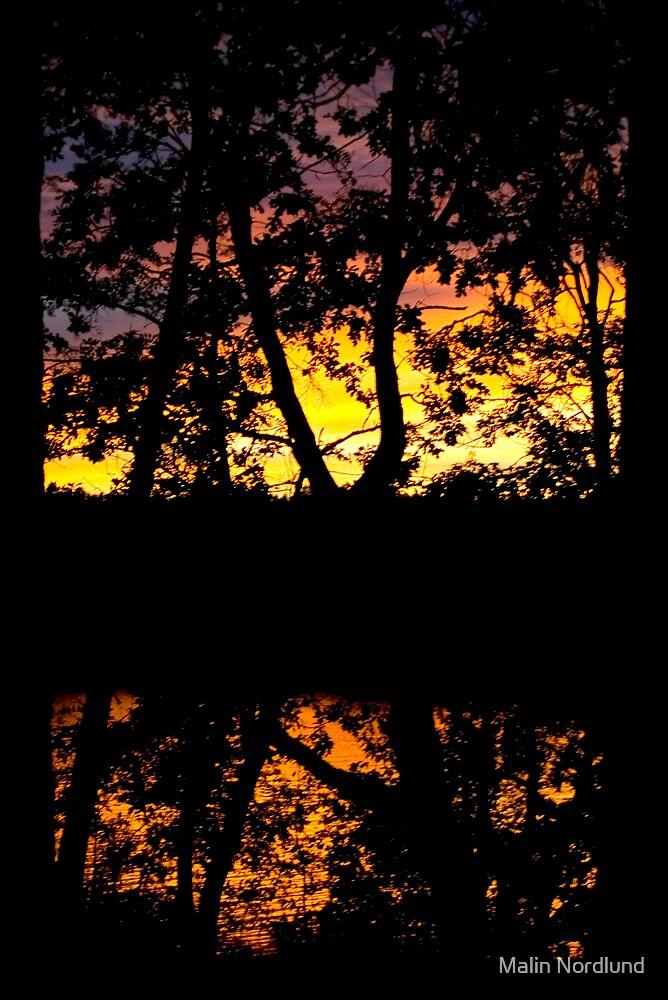 Sunset pattern by Malin Nordlund