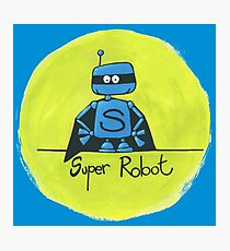 Super Robot Photographic Print
