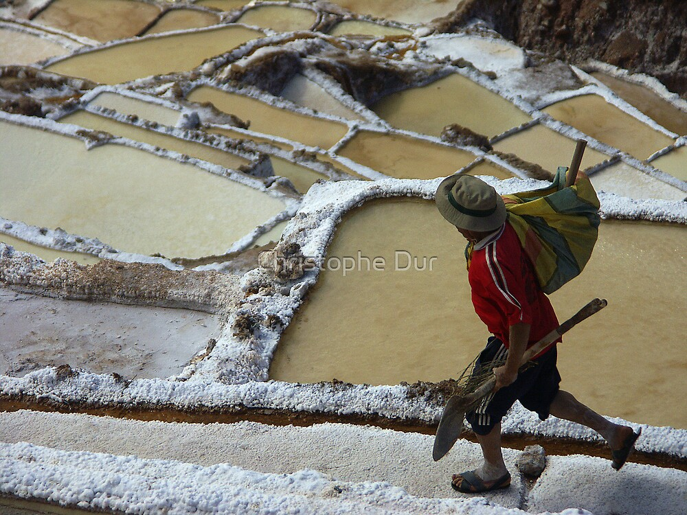Hard work - Peru by Christophe Dur