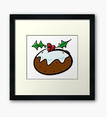 Christmas Pudding Framed Print