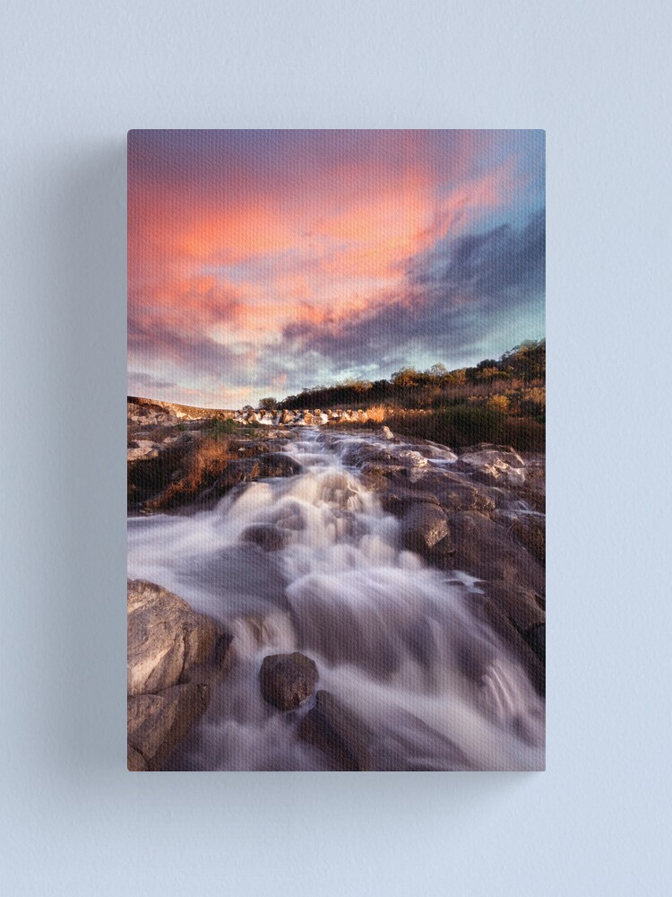 Alternate view of Sunrise at the Buckley Canvas Print