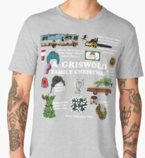 Christmas Vacation Collage Men's Premium T-Shirt