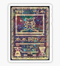 Pokémon - Ancient Mew Card Sticker
