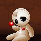 Voodoo Doll Cartoon in Love by BluedarkArt