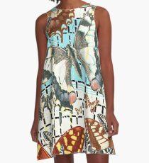 ANIMALS #butterfly swallowtail A-Line Dress