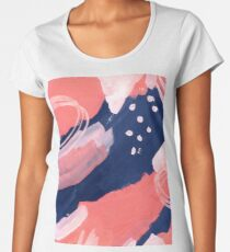 Pink Abstraction Women's Premium T-Shirt