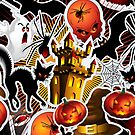 Halloween Spooky Cartoon Saga by BluedarkArt