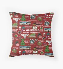 Christmas Vacation Collage Floor Pillow