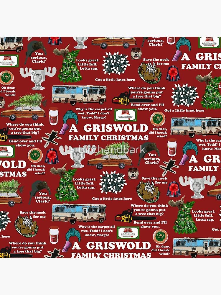 Christmas Vacation Collage by birchandbark