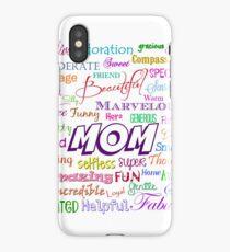 MOM iPhone Case/Skin