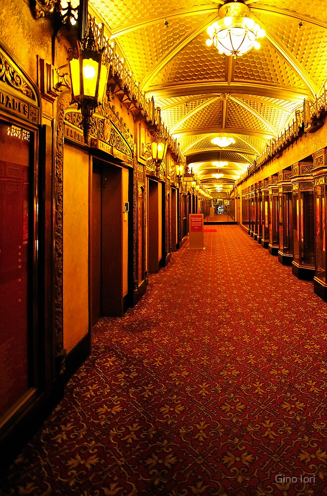 Hall Way - Another View by Gino Iori