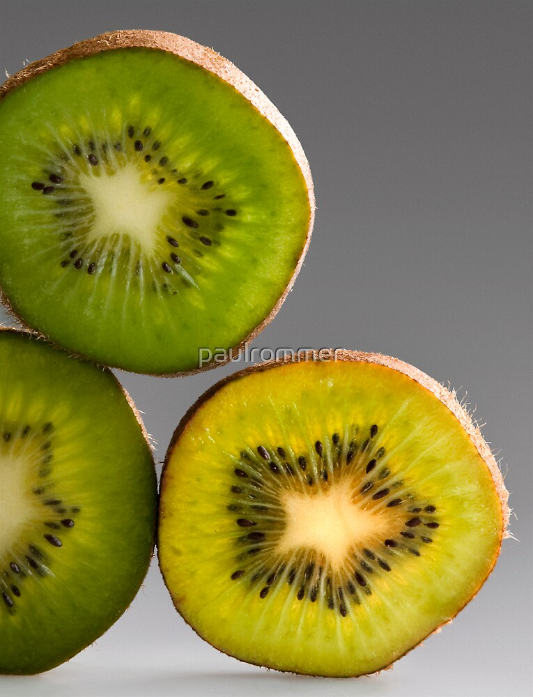 Kiwis green and yellow by paulrommer