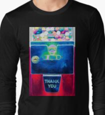 Whacked Out Color on Bubblegum Machine Long Sleeve T-Shirt