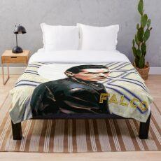 Falco Art Deco-Style Throw Blanket