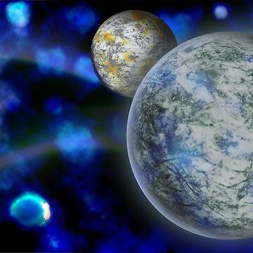 Ice Planet by destructopanda