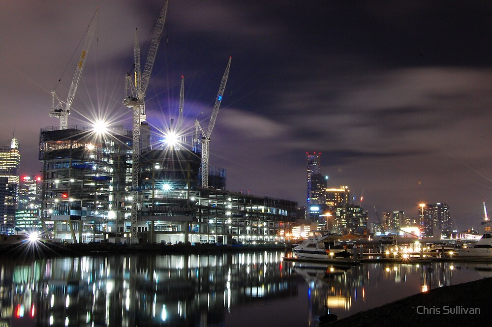 Reflections at Docklands by Chris Sullivan