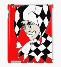 Sad Arlequin iPad Case/Skin