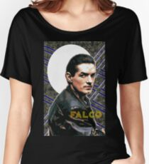 Falco Art Deco-Style Women's Relaxed Fit T-Shirt