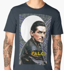 Falco Art Deco-Style Men's Premium T-Shirt