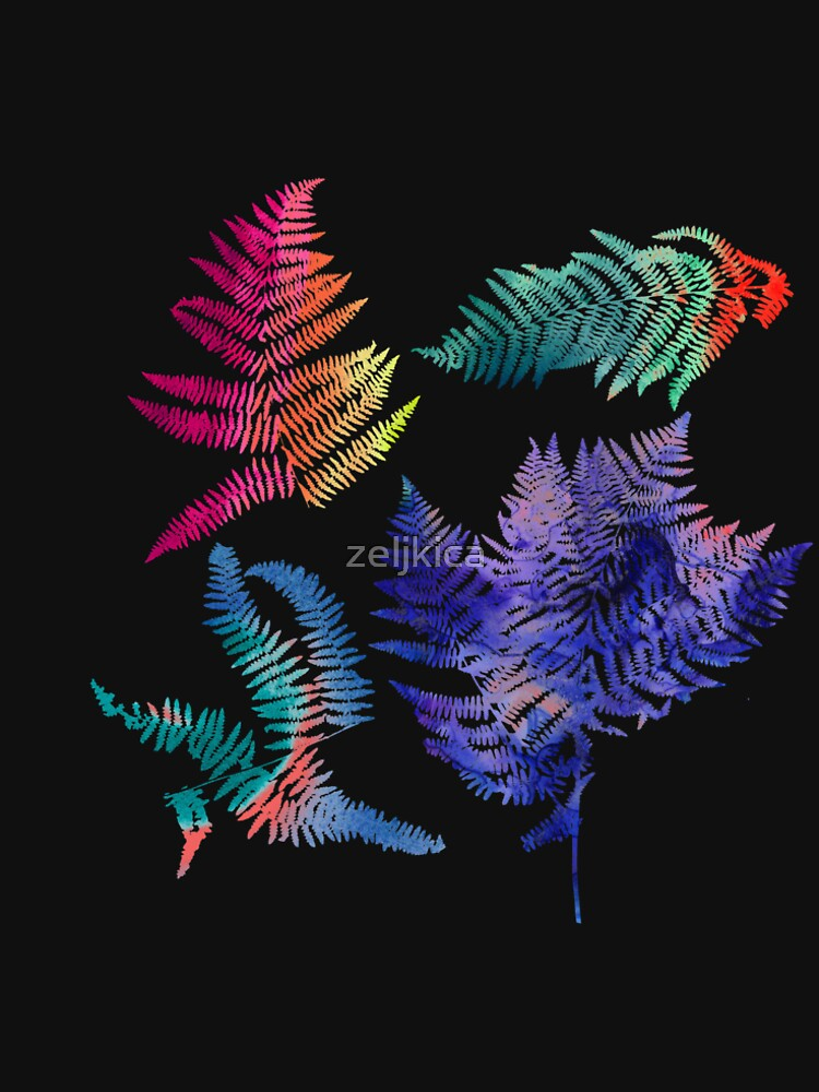 dreamy ferns by zeljkica