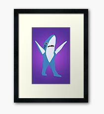Left Shark Framed Print