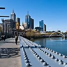 Crossing The Yarra   by Christine Wilson